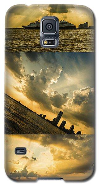Sunset Trilogy Galaxy S5 Case