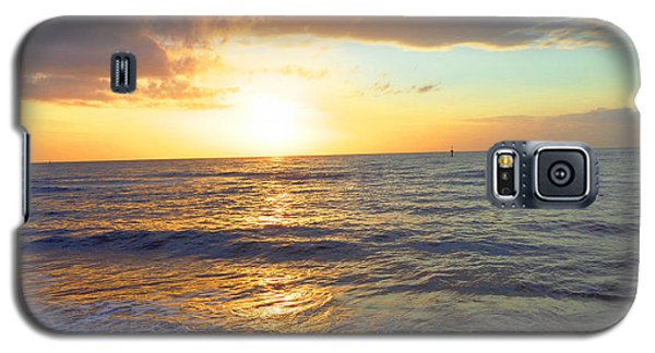 Galaxy S5 Case featuring the photograph Sunset by Ute Posegga-Rudel