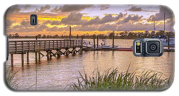 Sunset View Boardwalk Galaxy S5 Case