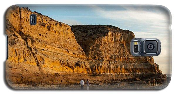 Sunset Walk At Flat Rock  La Jolla California Galaxy S5 Case