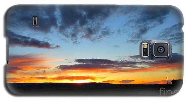 Sunset Walk Galaxy S5 Case by Janice Westerberg