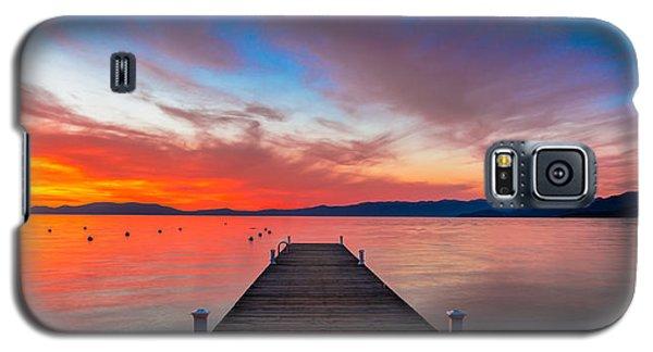Sunset Walkway Galaxy S5 Case