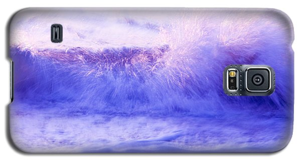 Galaxy S5 Case featuring the photograph Sunset Waves by Serene Maisey