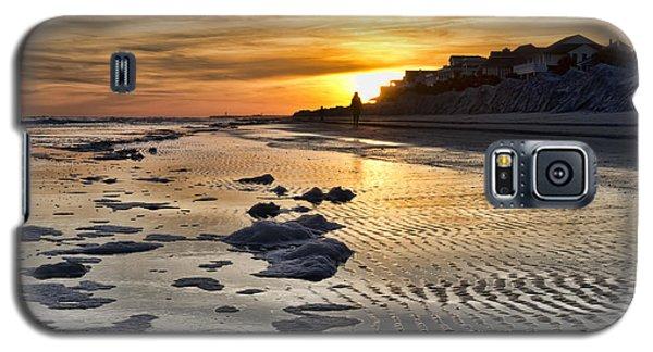 Sunset Wild Dunes Beach South Carolina Galaxy S5 Case