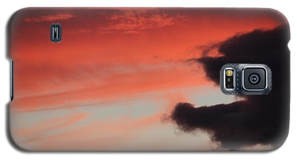 Galaxy S5 Case featuring the photograph Sunset's Fire by Patricia Hiltz