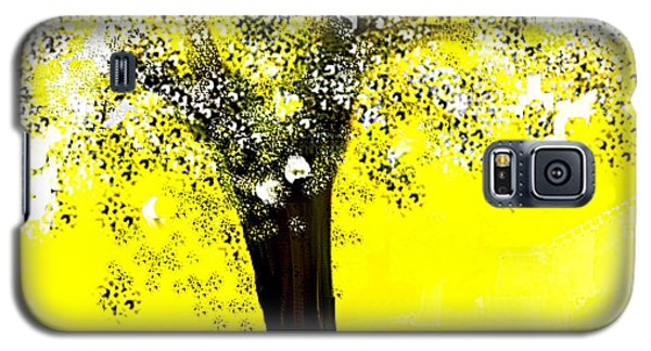 Sunshine Blossom Tree Galaxy S5 Case