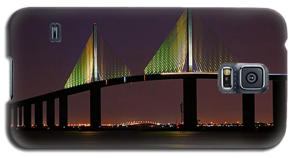 Sunshine Skyway At Dusk Galaxy S5 Case