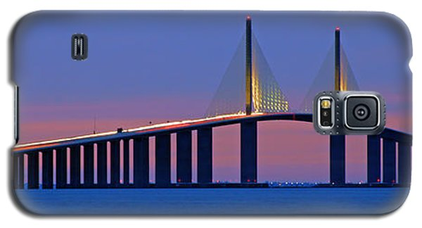 Sunshine Skyway At Dusk II Galaxy S5 Case