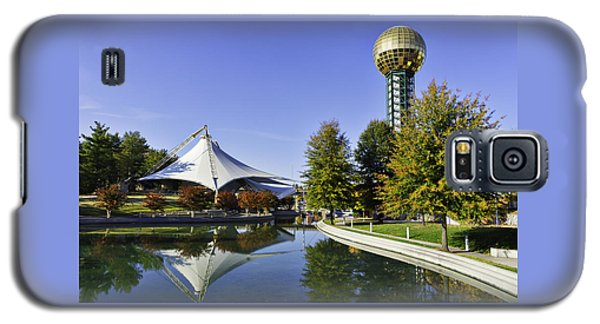 Sunsphere In The Fall Galaxy S5 Case