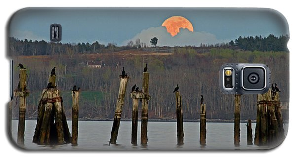 Galaxy S5 Case featuring the photograph Super Moon  by Barbara West