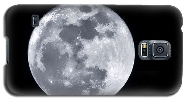 Super Moon Over Arizona  Galaxy S5 Case
