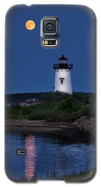 Super Moon Over Edgartown Lighthouse Galaxy S5 Case