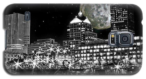 Super Moon Over Rochester Galaxy S5 Case by Richard Engelbrecht