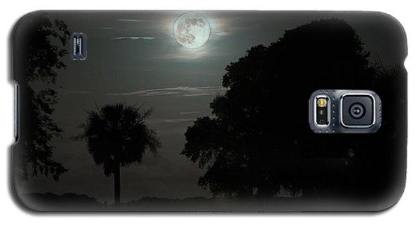Super Moon Over Wimbee Creek Galaxy S5 Case
