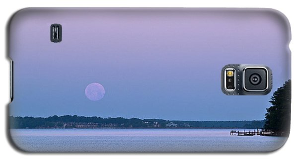 Super Moon Setting-1 Galaxy S5 Case