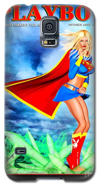 Supergirl 2085 Galaxy S5 Case