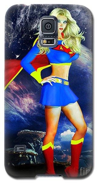 Supergirl Galaxy S5 Case