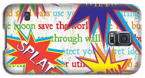 Superhero Galaxy S5 Case - Superhero 1 by Debbie DeWitt