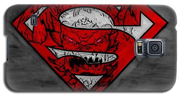 Superman And Doomsday R G Galaxy S5 Case