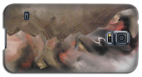 Galaxy S5 Case featuring the painting Supernatural by Nereida Rodriguez