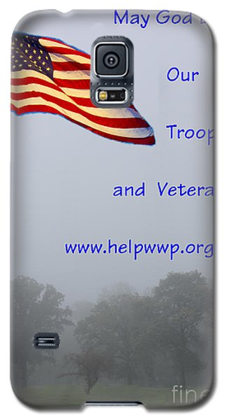 Support Our Troops And Veterans Galaxy S5 Case by Bill Woodstock