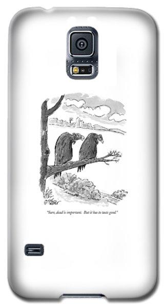 Sure, Dead Is Important.  But It Has To Taste Galaxy S5 Case