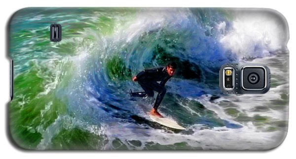 Surf 3 Off The Lip Galaxy S5 Case
