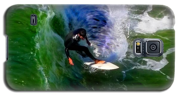 Surf 4 Shoot The Pier Galaxy S5 Case