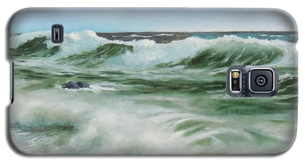 Surf At Castlerock Galaxy S5 Case