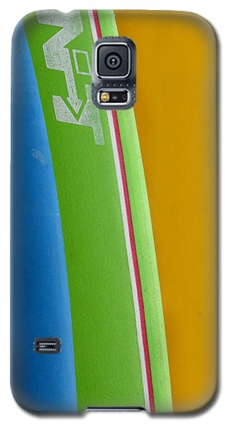 Surf Boards Galaxy S5 Case by Art Block Collections