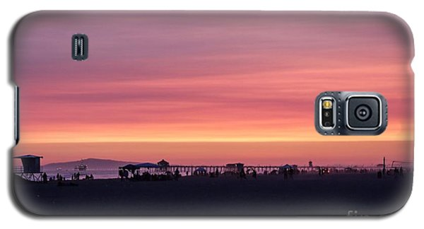 Surf City Sunset Galaxy S5 Case by Kevin Ashley