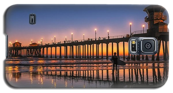 Galaxy S5 Case featuring the photograph Surf City Usa by Hawaii  Fine Art Photography