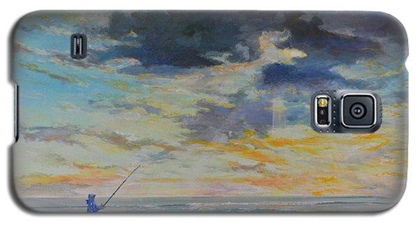 Surf Fishing Galaxy S5 Case by AnnaJo Vahle