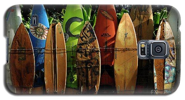 Surfboard Fence 4 Galaxy S5 Case