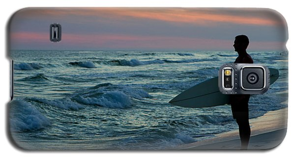 Surfer At Sunset Galaxy S5 Case