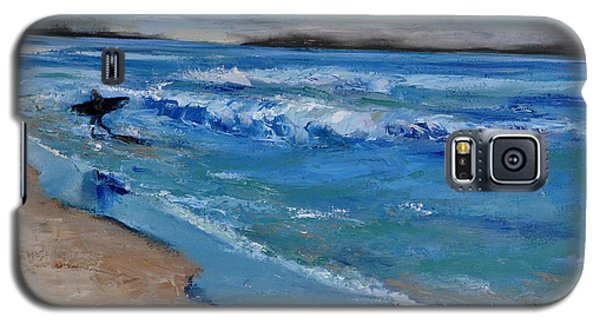Surfer Galaxy S5 Case by Lindsay Frost