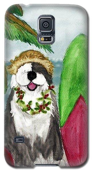 Surfin' Santa Galaxy S5 Case
