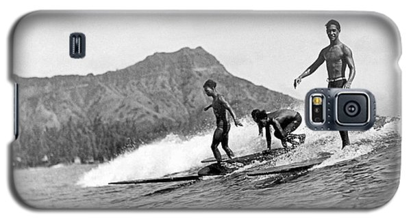 Surfing In Honolulu Galaxy S5 Case