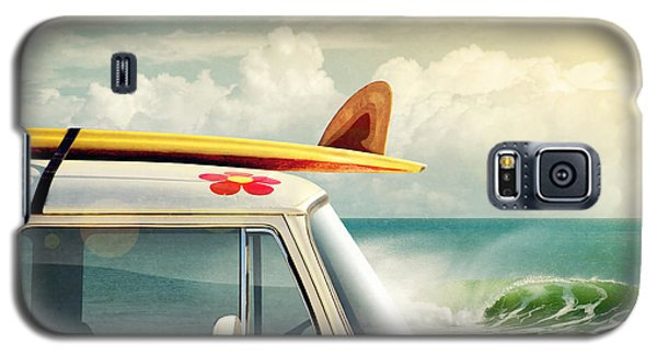 Surfing Way Of Life Galaxy S5 Case