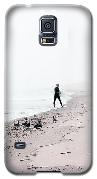 Surfing Where The Ocean Meets The Sky Galaxy S5 Case by Brooke T Ryan
