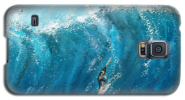 Surf's Up- Surfing Art Galaxy S5 Case
