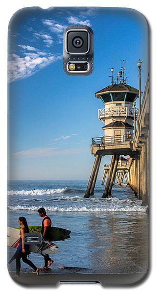 Surf's Up Galaxy S5 Case by Tammy Espino