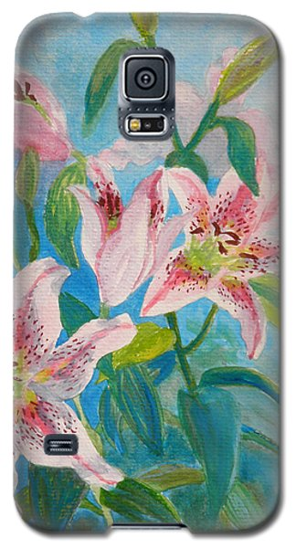 Surprise Star Lillies Galaxy S5 Case