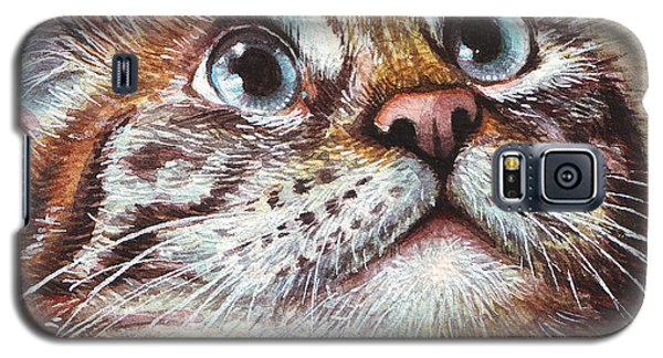 Surprised Kitty Galaxy S5 Case