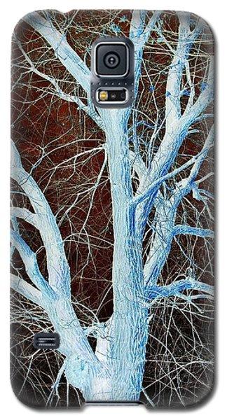 Surreal Blue Tree Galaxy S5 Case