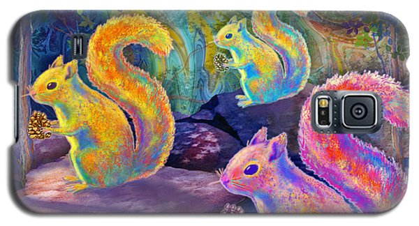 Surreal Squirrels In Square Galaxy S5 Case
