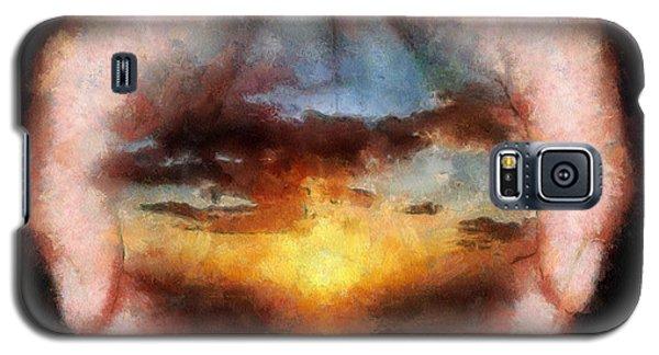 Surreal Sunset Galaxy S5 Case by Georgi Dimitrov