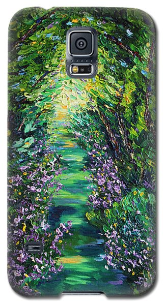 Galaxy S5 Case featuring the painting Surrender by Meaghan Troup