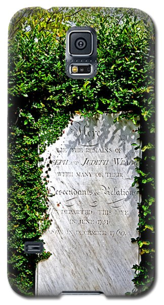 Galaxy S5 Case featuring the photograph Surrounded By Nature by Jean Haynes