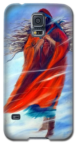 Galaxy S5 Case featuring the painting Surviving Another Day by Jackie Carpenter